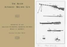 Madsen 1905 Rexer Automatic Machine Gun (English-Uk)