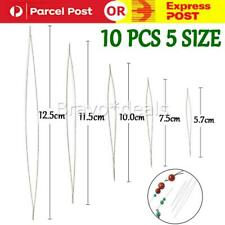 10PCS Big Eye Curved Beading Needles for beads and pearls Threading String Cord
