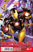Iron Man #1 First Printing Unread New / Near Mint Marvel 2013 **23