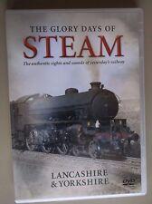 The Glory Days of Steam - LANCASHIRE & YORKSHIRE -  DVD