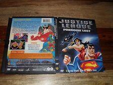 Justice League - Paradise Lost (DVD, 2003) ORIGINAL SNAPCASE!!