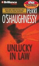UNLUCKY IN LAW bestselling audio book CASSETTE by PERRI O'SHAUGHNESSY  Brand New