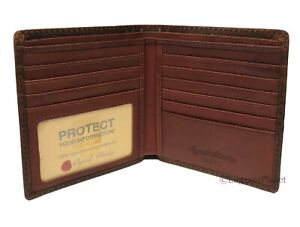 Osgoode Marley Distressed Mens RFID Leather ID Hipster Wallet -  Distressed 1313