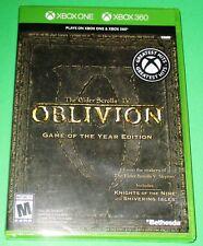 The Elder Scrolls IV: Oblivion - GOTY Ed. - Xbox One + Xbox 360 *New-Free Ship!
