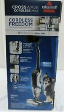 Bissell Crosswave Cordless Max Freedom WiFi Connected Vacuum 25542