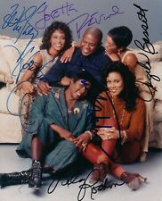 Waiting to Exhale- Promo Photo Signed by the Entire Cast w/Whitney Houston