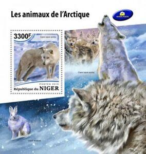 Niger - 2018 Arctic Animals Stamp Souvenir Sheet NiG18501b