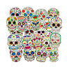 50pcs Cool Candy Skull Sticker Graffiti Skateboard Luggage Vinyl Decal