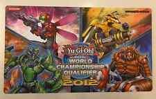 Yu Gi Oh TAPPETINO KONAMI Playmat WORLD CHAMPIONSHIP QUALIFIER 2012 Inzektor GCC
