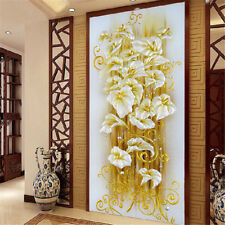 BD_DIY 5D Diamond Embroidery Painting Lily Flower Mosaic Cross Stitch Craft Kit�€