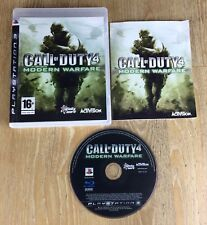 Call of Duty 4 Modern Warfare PS3 Playstation 3 Game