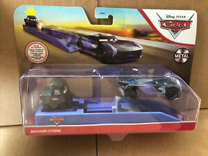 DISNEY CARS DIECAST - Jackson Storm Launcher- New - Combined Postage