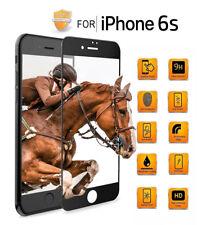 5D Panzerglas für iPhone 6S, 9H HD, 360°FULL SCREEN! Neueste Technologie!schwarz