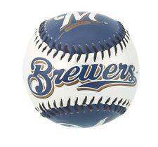 Franklin MLB Team Soft Strike® Baseballs - Milwaukee Brewers - Baseball