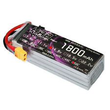 HRB LiPo Battery 14.8V 4S 1800mAh 50C 100C for RC FPV Helicoptor Plane Drone Car