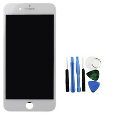 For iPhone 8 Plus LCD Display Touch Screen Digitizer Assembly White + Tools