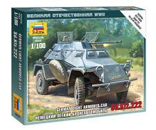 Zvezda 1/100 German Light Armoured Car Sd.Kfz.222  Z6157