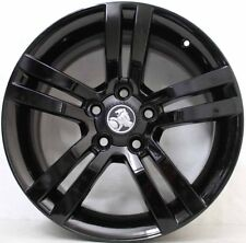 18 inch Genuine Holden COMMODORE  VE SS  ALLOY WHEELS IN CUSTOM BLACK