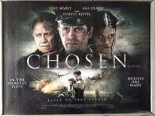 Cinema Poster: CHOSEN 2017 (Quad) Harvey Keitel Luke Mably Ana Ularu