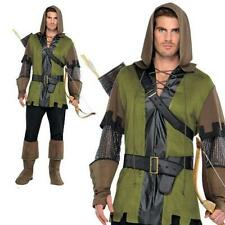 Mens Prince Of Thieves Fancy Dress Costume One Size