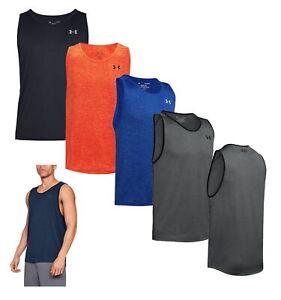 Under Armour Men's UA Tech Tank 2.0 Tank Top Gym Shirt 1328704 - New 2021