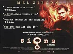 Signs (Double Sided) Original Movie Poster