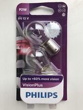 Philips P21/5W VisionPlus Signal und Innenbeleuchtung 12499VPB2 **NEU!**