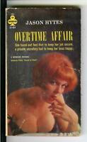 OVERTIME AFFAIR by Jason Hytes, rare US Midwood sleaze gga pulp vintage pb