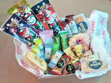 30pcs SNACK BOX - rice crackers + seaweed + ginger candy from Asia