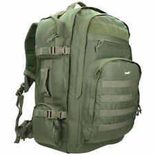 Texar Tactical Backpack Military Combat Grizzly 65L Travel Olive