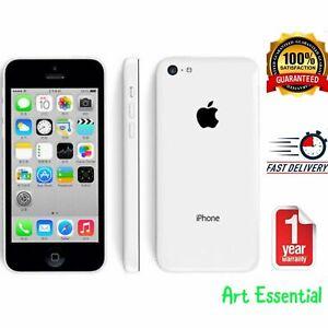 Excellent Condition Apple iPhone 5c - 16GB/8GB - White (Unlocked) + Warranty
