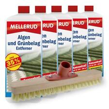 5er Pack Mellerud Algen und Grünbelag Entferner (5 x 2 Liter) inkl. Schrubber