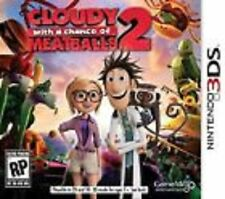Cloudy With A Chance Of Meatballs 2 GAME Nintendo 3DS 3 2 2DS **FREE SHIPPING!!