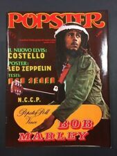 POPSTER N°3 BOB MARLEY CON POSTER LED ZEPPELIN 1979