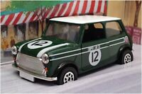 Corgi 1/36 Scale 98142 - Mini Cooper - Cooper's Garage #12 Green/White