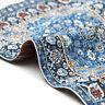 HOT 1X Mini Blue Starry Night Carpet For 1/12 Dollhouse Kid Decor House Toy R6N3