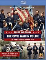 BLOOD AND GLORY: THE CIVIL WAR IN COLOR NEW BLU-RAY