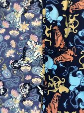 NWT Lot 2 Lularoe DISNEY Tween Aladdin Princess Jasmine Paisley Genie Leggings