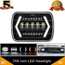 "DOT 7x6"" 5x7"" inch LED Headlight DRL Turn Signal for Toyota Nissan Pickup Truck"
