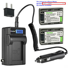 Kastar Battery LCD AC Charger for Sony NP-FP50 NP-FP51 Sony DCR-DVD202 DVD202