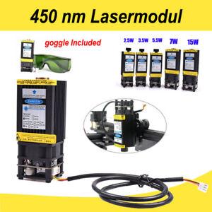 450 nm blaues Lasermodul & Kühlkörper-Laserkopf für CNC-Laser schneid maschine