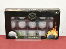"Perma Coal Ceramic FireSpheres 3"" 15 Pack For Firebowl Filler"