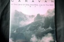 "Caravan In The Land Of Grey + Pink Live At The BBC 12"" vinyl LP New + Sealed"