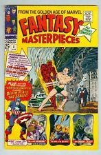 Fantasy Masterpieces #8 April 1967 Vg King-Size, Torch V. Sub-Mariner