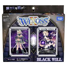TAKARA TOMY WIXOSS WXD-08 TCG PRE-BUILD DECK BLACK WILL 48 CARDS WX82031