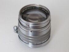 """Leica Letiz SM LTM 5cm 50mm f:1.5 Xenon lens NICE """"LQQK"""""""