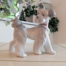 Lladro Unexpected Visit # 6829 Dog w/Bird Mint Condition Fast Shipping!