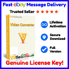 Freemake Video Converter 4.1.1 ⭐ Genuine License Lifetime Key 📩 Fast Delivery