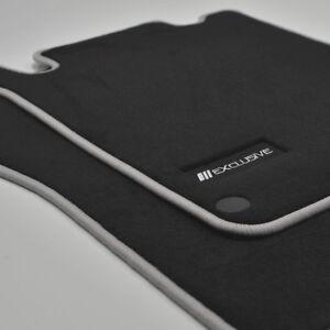 Mattenprofis Exclusiv Velour Fußmatten für Mercedes SLK R171 ab Bj.2004 - 2011 s