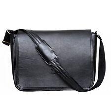 15 Inch Vintage Leather Shoulder Messenger Bag Men Women - Laptop High quality